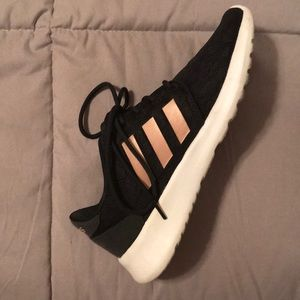 adidas black and rose gold